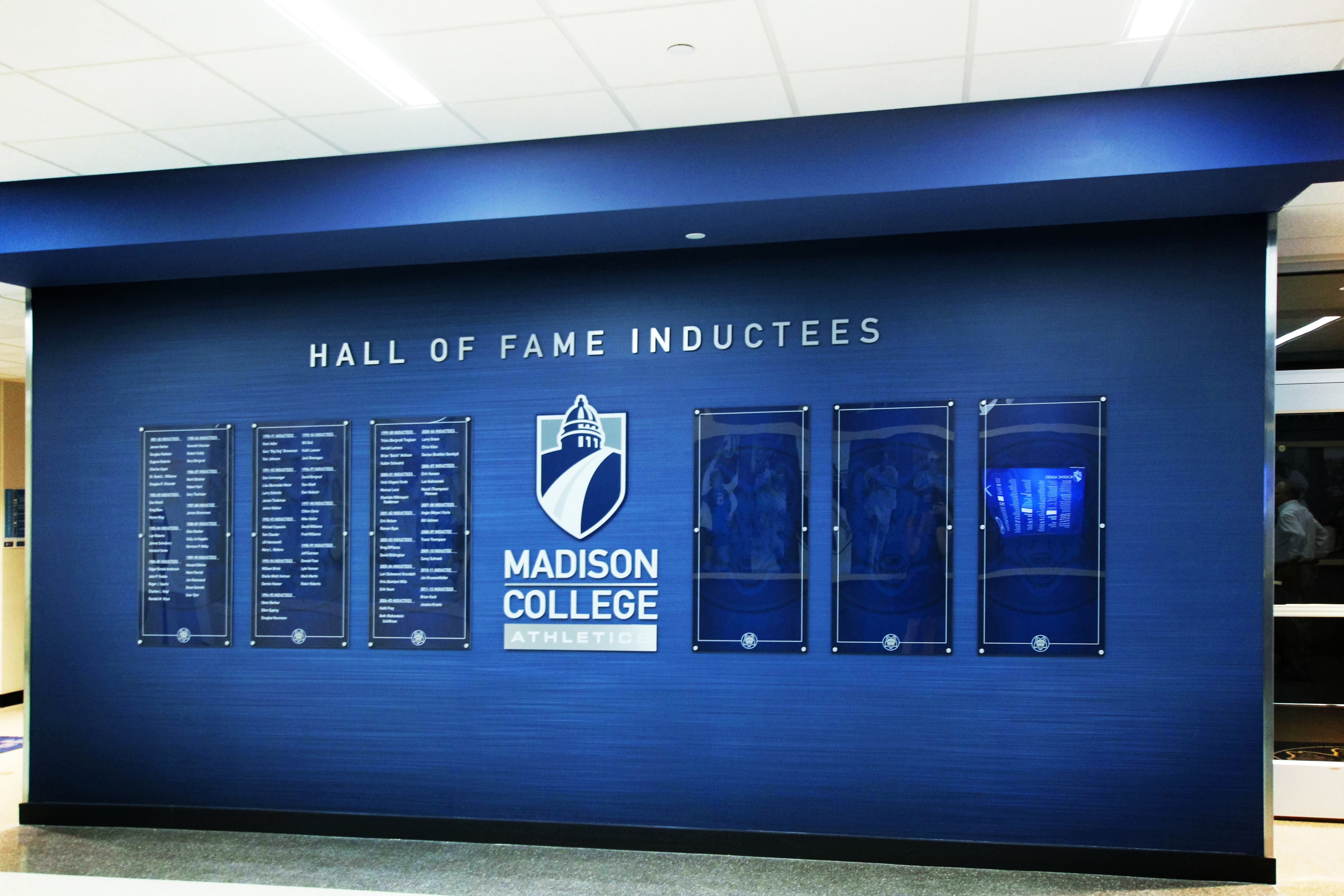 Hall of Fame inductees of Madison College athletics