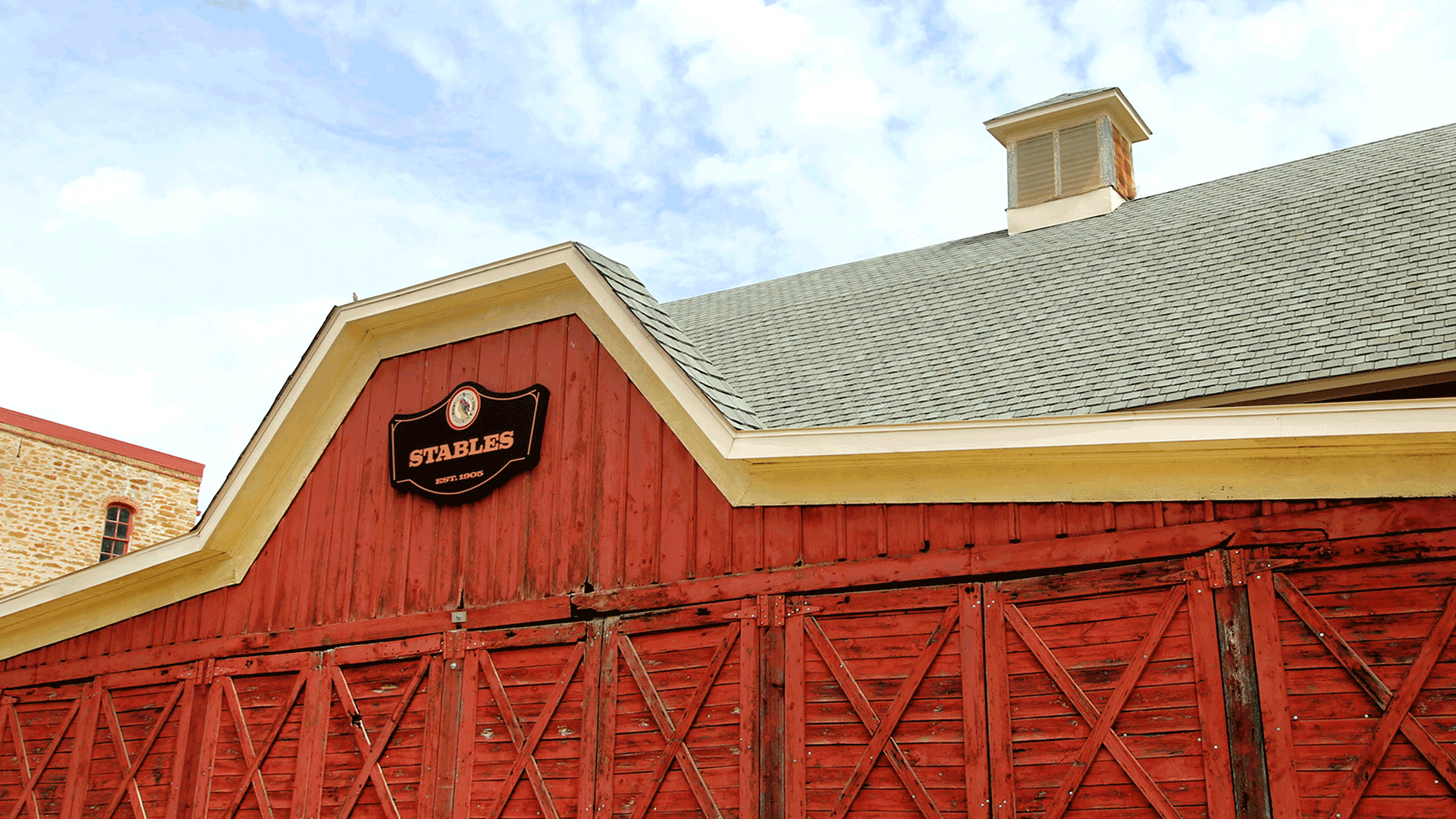 Stables exterior sign