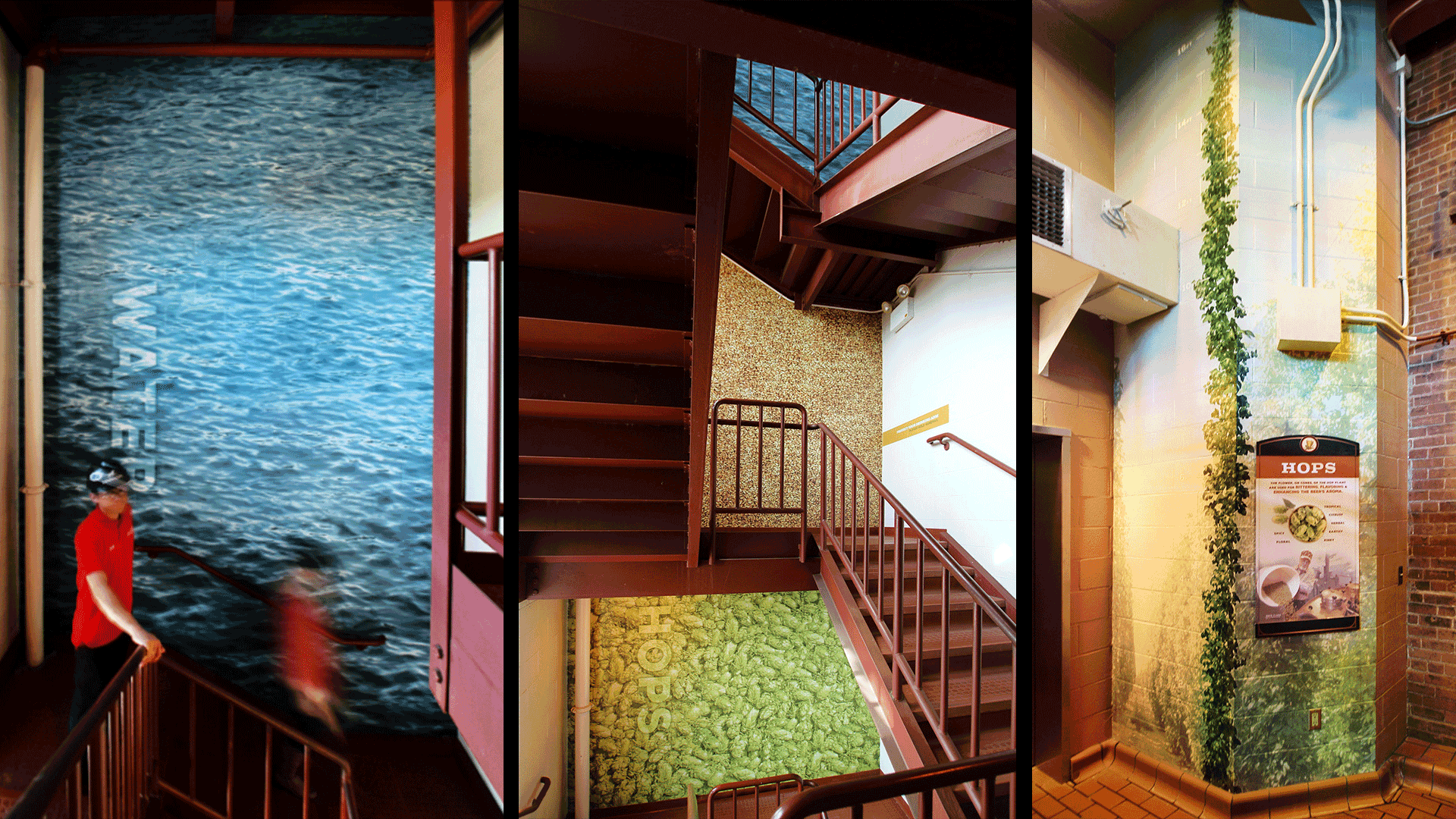 Stairwell ingredient images