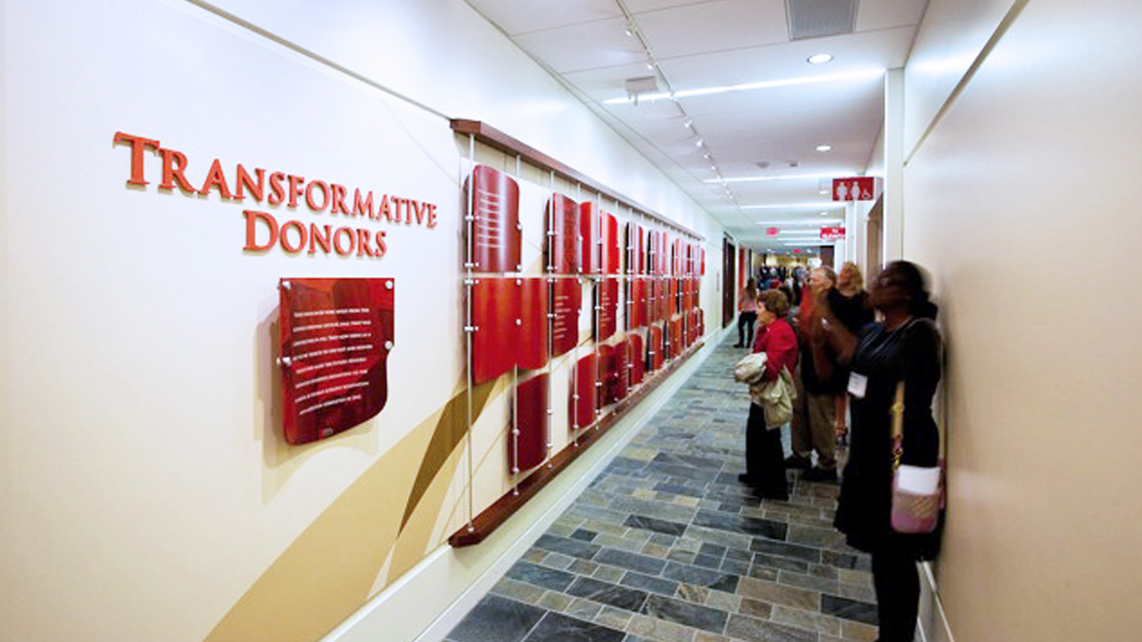Higher Education Donor Recognition University of Wisconsin-Madison School of Human Ecology