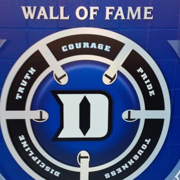 Wall of Fame signage