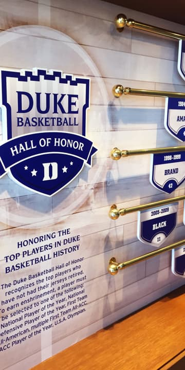 Hall of Honor signage
