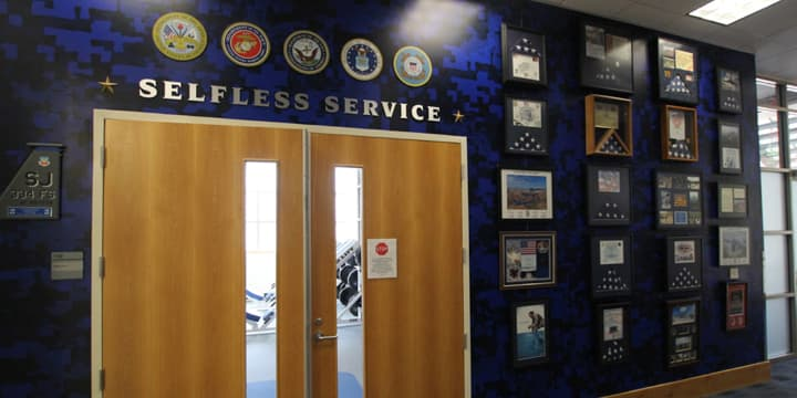 Selfless Service exhibit