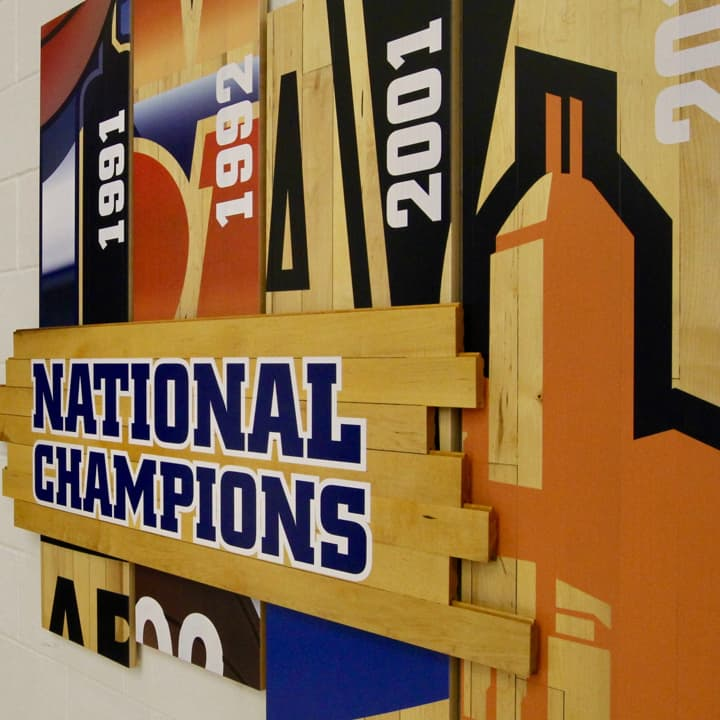 National Champions sign