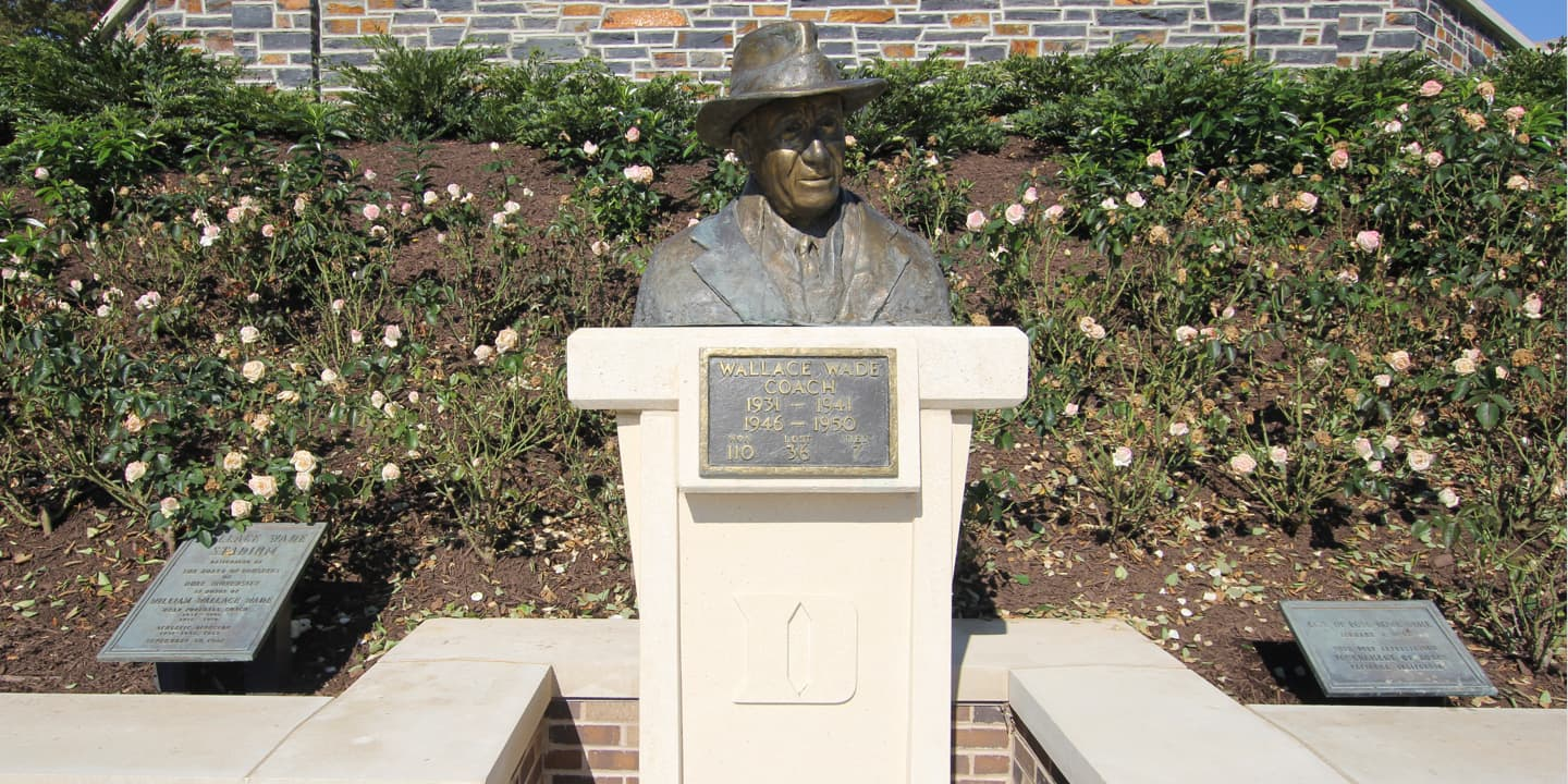Bust of Wallace Wade