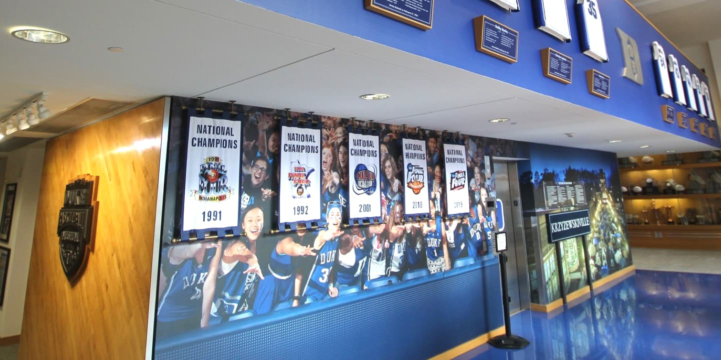 National Championship banners