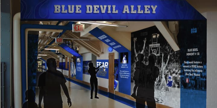 Blue Devil Alley concept